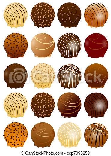 chocolate, doce - csp7095253