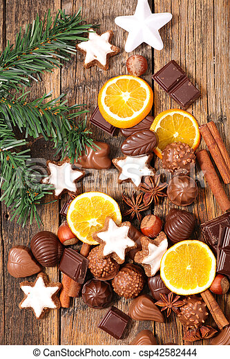 chocolate for christmas - csp42582444