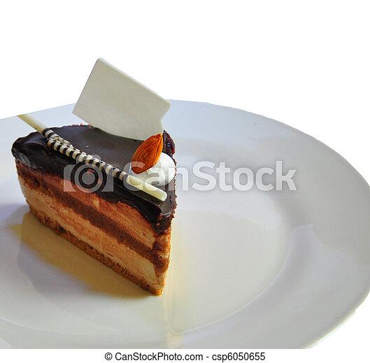 chocolate fudge coffee cake 2 - csp6050655
