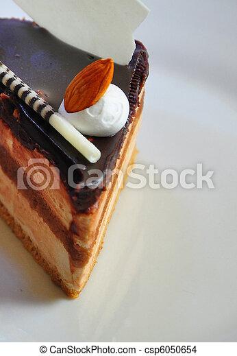 chocolate fudge coffee cake 3 - csp6050654