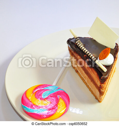 chocolate fudge coffee cake 5 - csp6050652