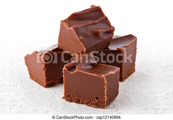Chocolate Fudge - csp12140994