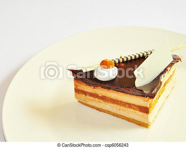 chocolate fudge - csp6056243