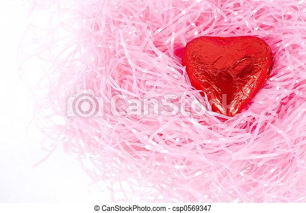 Chocolate Heart - csp0569347