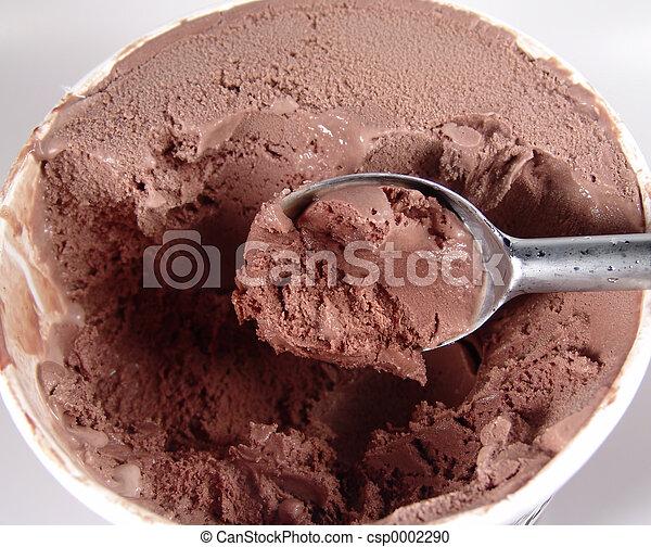 Chocolate Ice Cream - csp0002290
