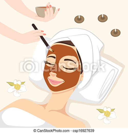 Chocolate Mask Treatment - csp16927639