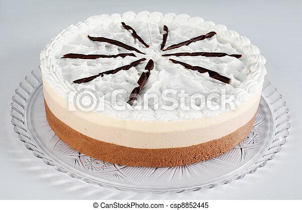 chocolate mousse cake - csp8852445
