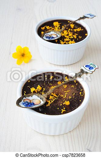 chocolate mousse - csp7823658