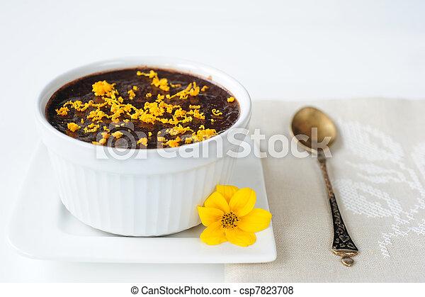 chocolate mousse - csp7823708