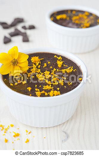 chocolate mousse - csp7823685