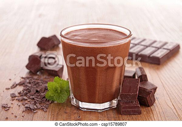 chocolate mousse - csp15789807