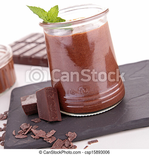 chocolate mousse - csp15893006