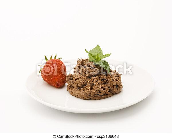 Chocolate mousse - csp3106643