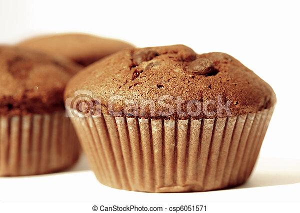 Chocolate muffins - csp6051571