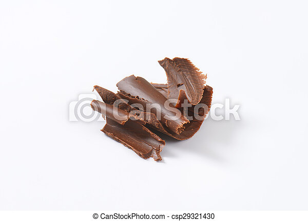 chocolate pieces - csp29321430