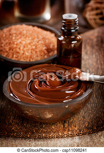 Chocolate Spa Mask - csp11098241