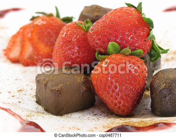 Chocolate treats! - csp0487711