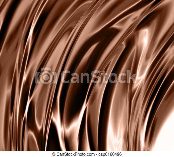 chocolate waves  - csp6160496