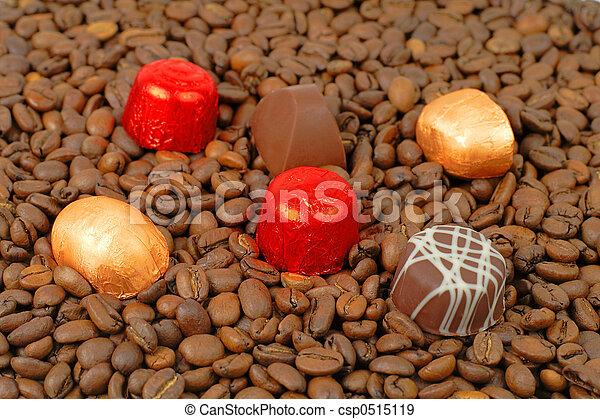 Chocolates coffee - csp0515119