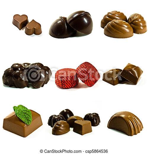 chocolates - csp5864536
