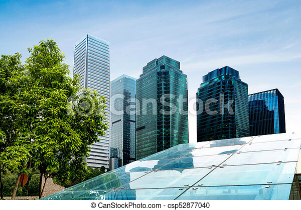 Chongqing S Modern Buildings Intensive Modern Architecture