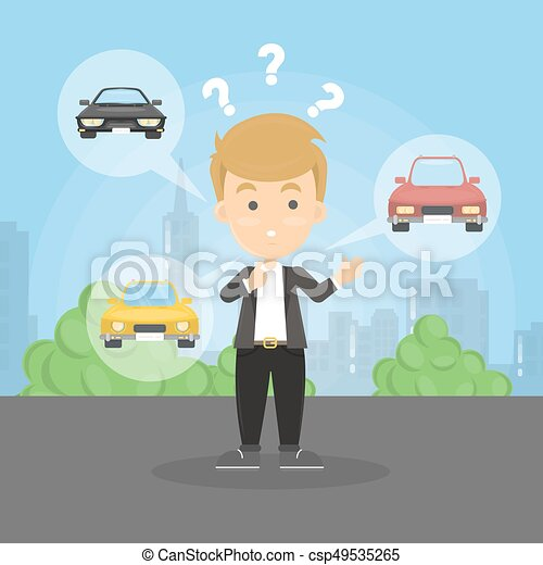 Taxi driver confused emoji oops. Cabbie perplexed - vector image