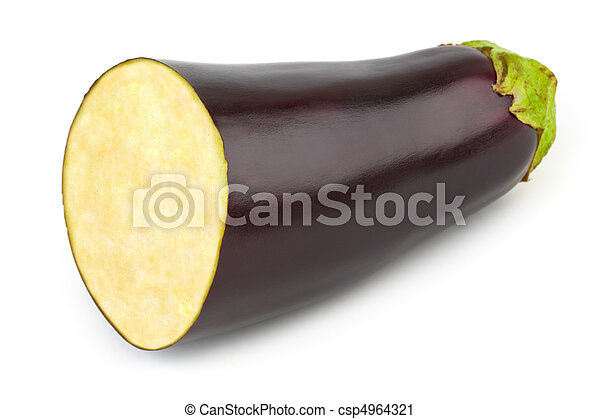 Chopped eggplant - csp4964321
