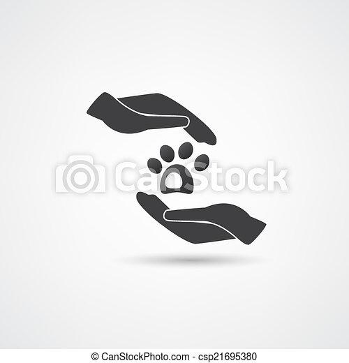 chouchou, vecteur, soin - csp21695380