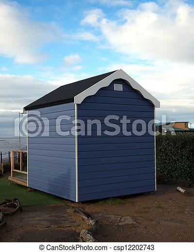 La cabaña de la playa - csp12202743