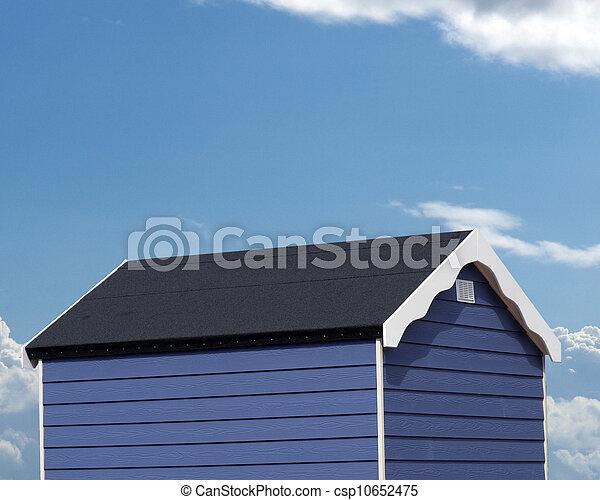 La cabaña de la playa - csp10652475