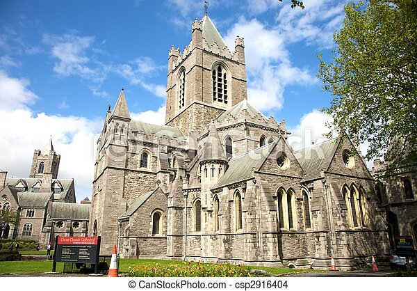 christ church cathedral - csp2916404
