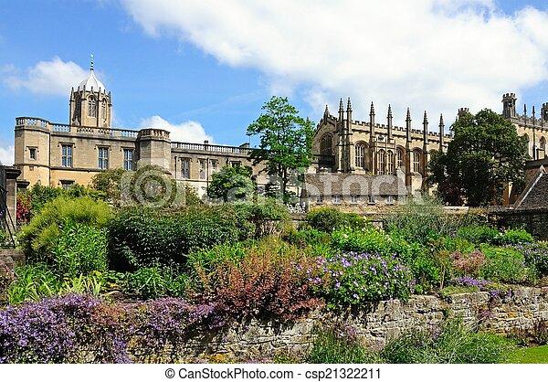 Christ Church College, Oxford. - csp21322211