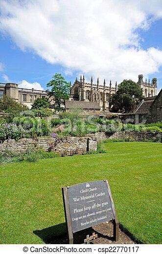 Christ Church college, Oxford. - csp22770117