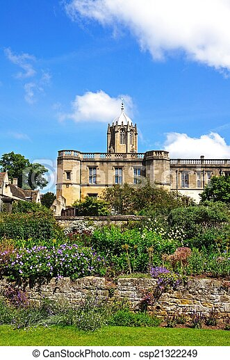 Christ Church College, Oxford. - csp21322249