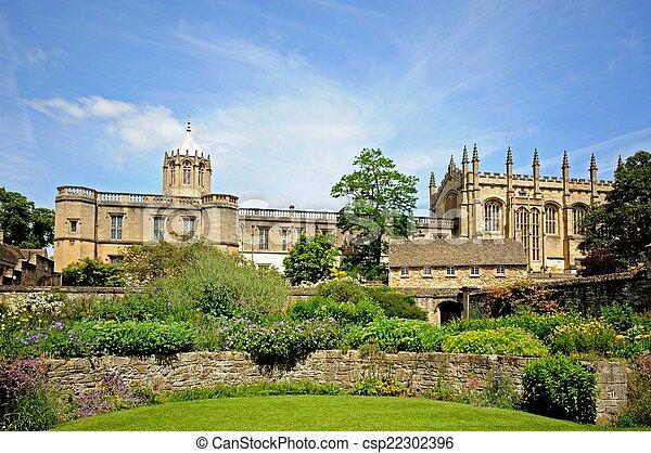 Christ Church College, Oxford. - csp22302396