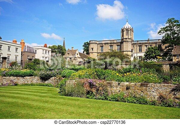 Christ Church College, Oxford. - csp22770136