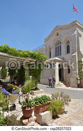 Christ Church in Jerusalem - Israel - csp28207023