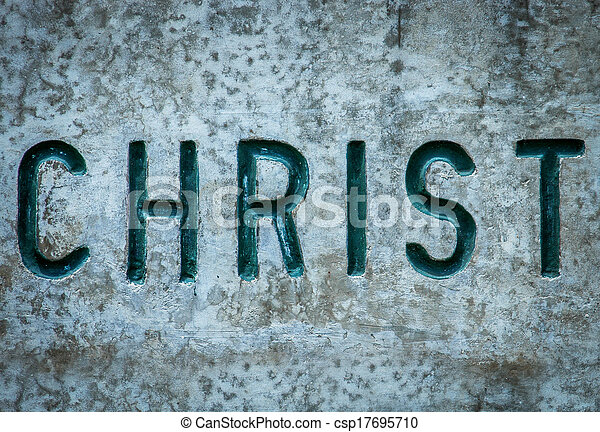 Christ In Rock - csp17695710