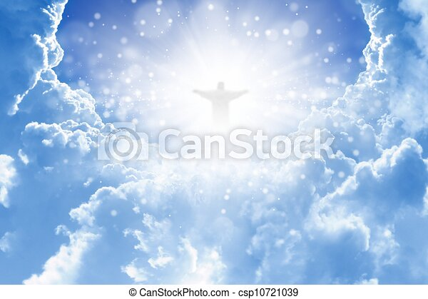 Christ in sky - csp10721039