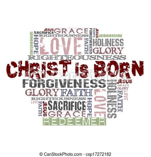 Christ is born - csp17272182