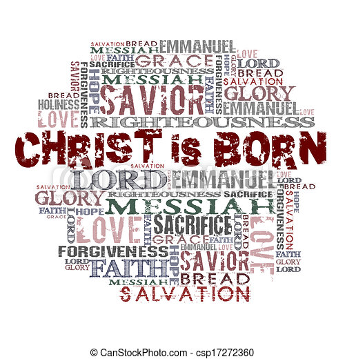 Christ is born - csp17272360