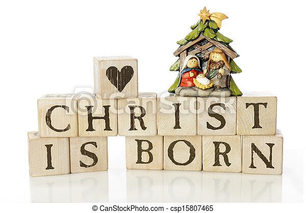 Christ Is Born - csp15807465