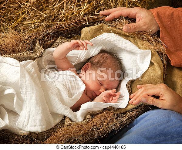Christ is born - csp4440165