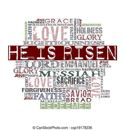 Christ Is Risen  - csp19178236
