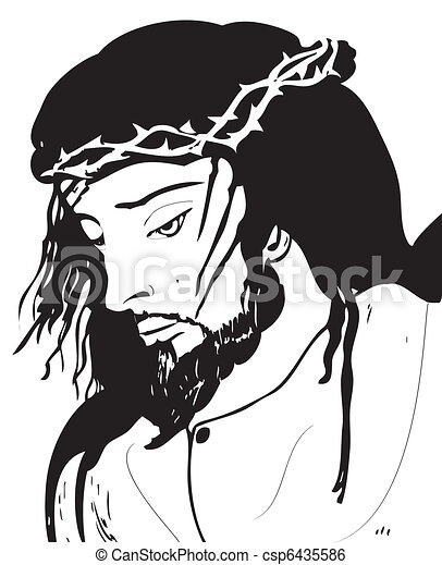 christ, jésus - csp6435586