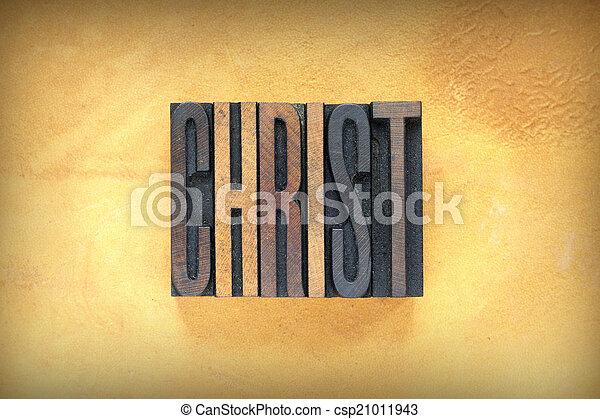 Christ Letterpress - csp21011943