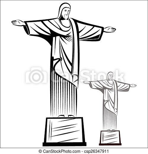 Christ the redeemer - csp26347911