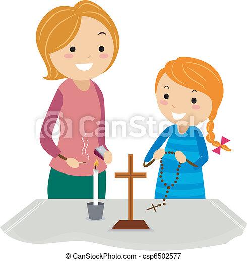 Christian Altar - csp6502577