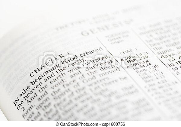 Christian Bible. - csp1600756