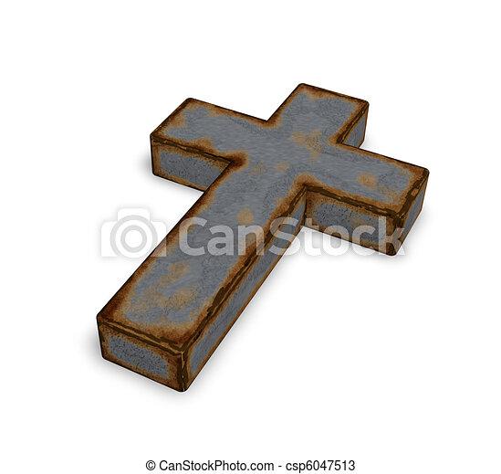 christian cross - csp6047513